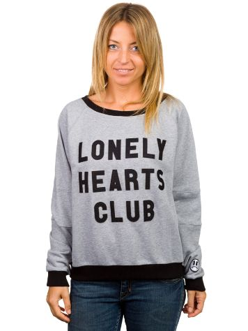 Fun Time Lonely Hearts Crewneck Sweater