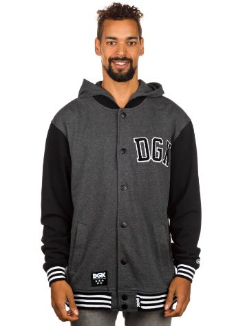DGK Worldwide Letterman Fleece Hoodie