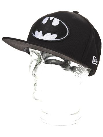New Era Batman Black White Basic Cap