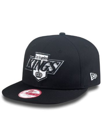 New Era LA Kings Black White Basic Cap