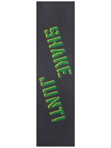 Shake Junt Sprayed Green Yellow Griptape