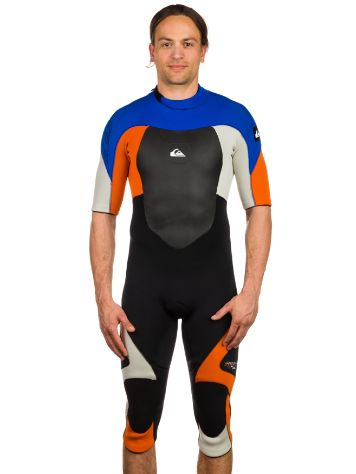Quiksilver Syncro 3/2mm Wake S/SL Backzip Wetsuit