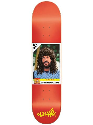 "Cliche Mendizabal World Cup R7 8.4"" x 31.7"" Deck"