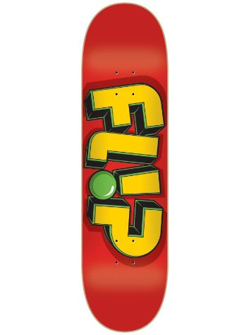 "Flip Odyssey Jumbled Red 8"" x 31.5"" Deck"