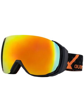 Quiksilver Hubble Rimless Black/Orange Fluo