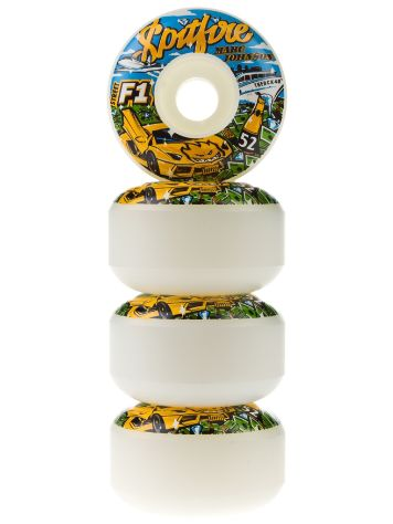 Spitfire F1 Streetburners Billion M.Johnson 52mm Whee