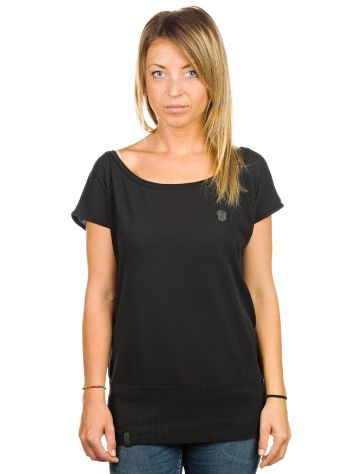 Naketano Black Wolle T-Shirt