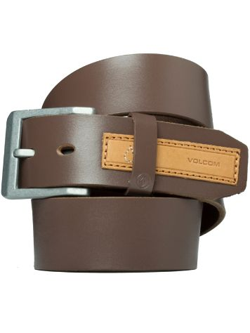 Volcom Stringer Leather Belt