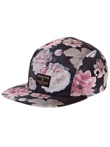 Primitive Rose Noir 5 Panel Cap