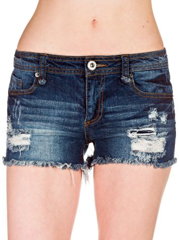 Empyre Girls Asha Destructed Shorts