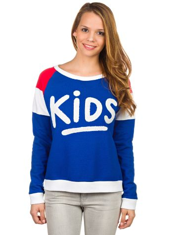 Fun Time Kids Blue Crewneck Sweater