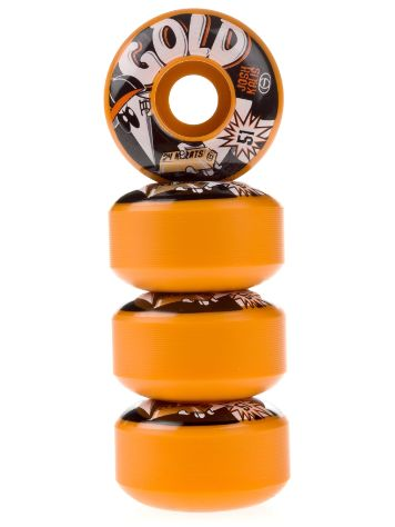 Gold Wheels Kalis Spy 51mm Wheels