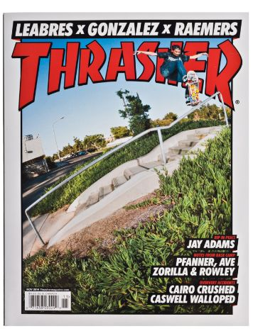 Thrasher Trasher Issue 2014 November