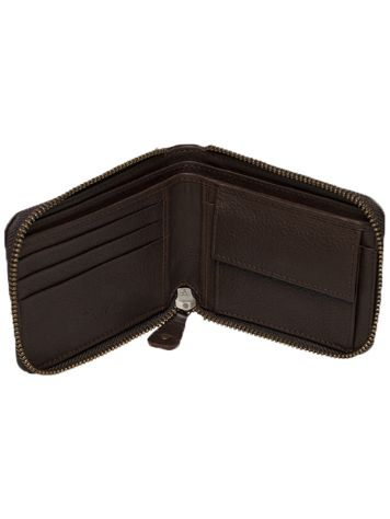 REELL Zip Leather Wallet