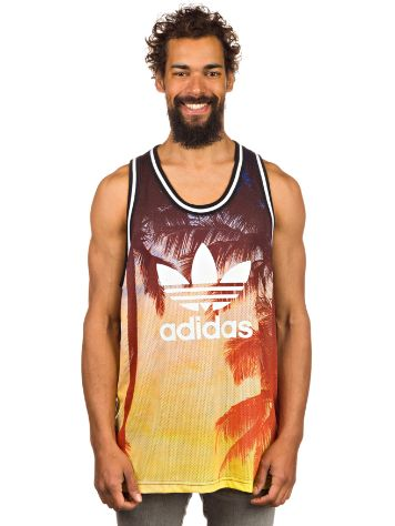adidas Originals Photo Allover Palm Tank Top