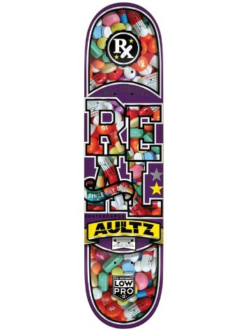 "Real Low Pro Overdose Jt Aultz 8.12"" Deck"