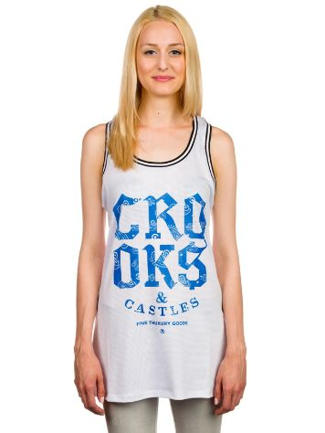 Crooks & Castles Squad Love Basketball Jersey Tank Top