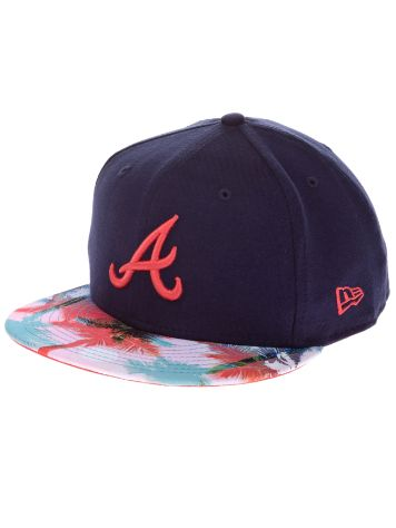 New Era Miami Vibe 59Fifty Atlanta Braves Cap