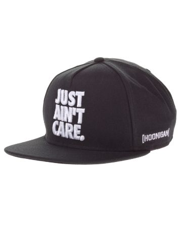 Hoonigan Just Aint Care Snapback Cap