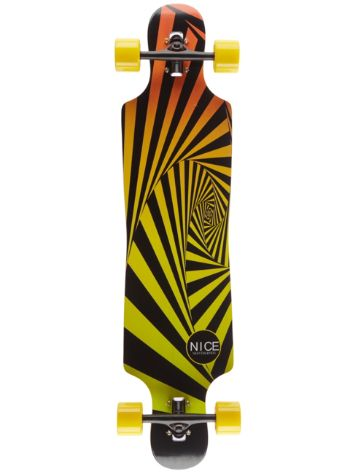 "Nice Skateboards Tunnel 40"" x 9.25"" Complete"