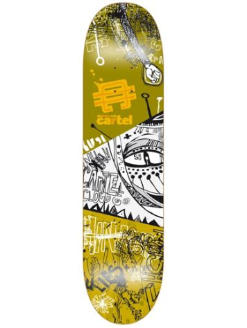 "Cartel Skateboards Framed Society 7.75"" Skateboard Deck"
