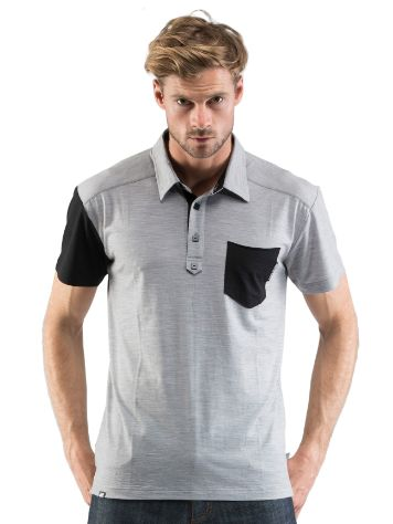 Mons Royale Merino Polo Tech Tee