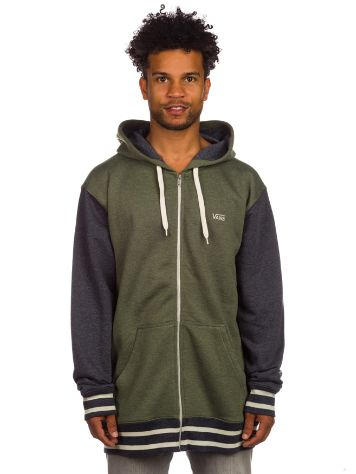 Vans Core Basic Colorblock Zip Hoodie