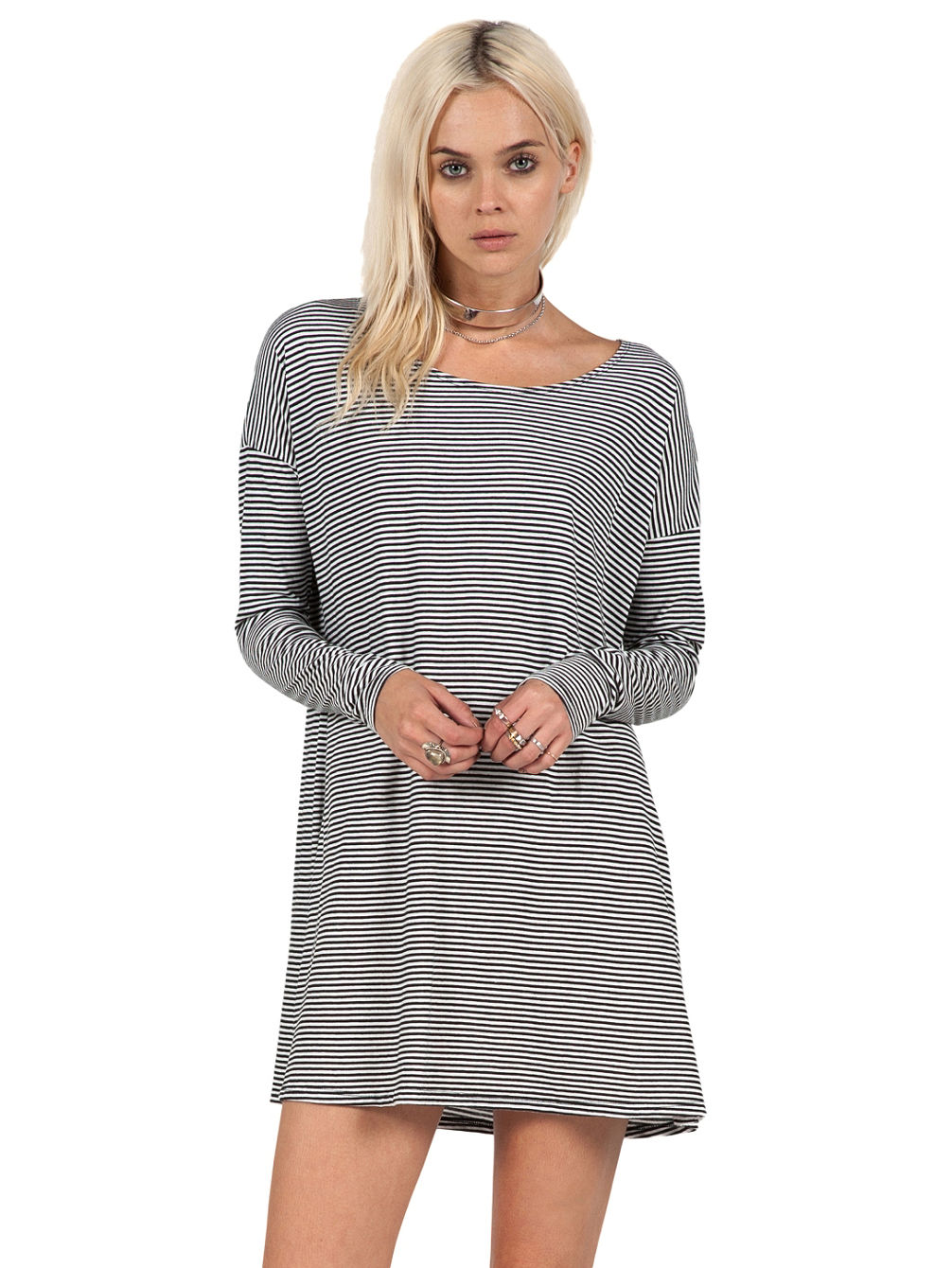 Volcom Lived In Stripe Dress