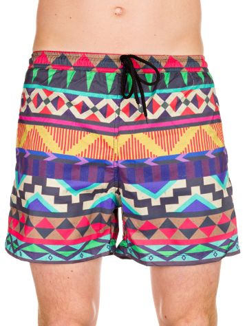 LOVE BOX Swim Trunks Graphic Boardshorts