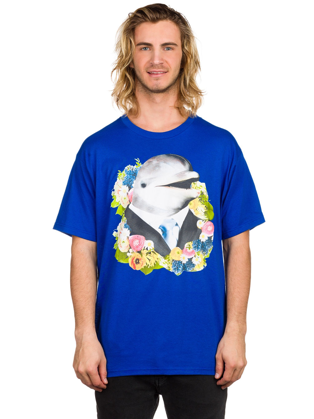 a-lab-dolphin-business-t-shirt