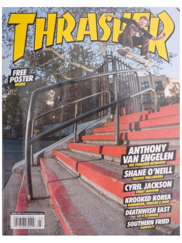 Thrasher Trasher Issue 2015 March