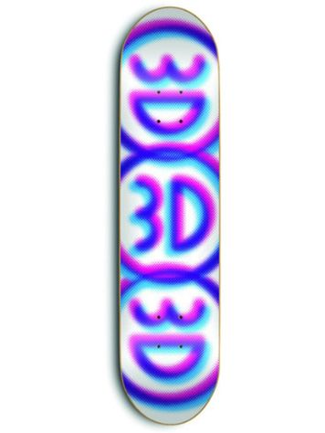 "3D Logo Board Three 8.5"" Deck"
