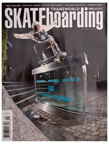 Transworld Snowboarding Transworld Mag April 2015