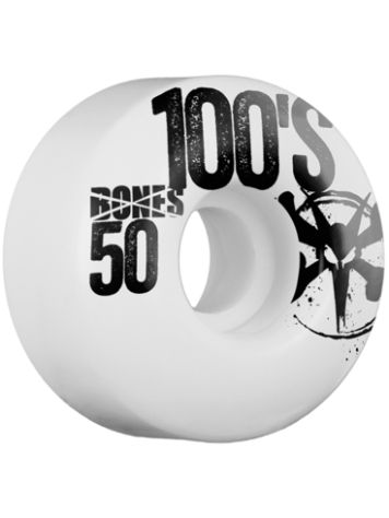 Bones Wheels 100's OG #13 Slim 100A 52mm Wheels
