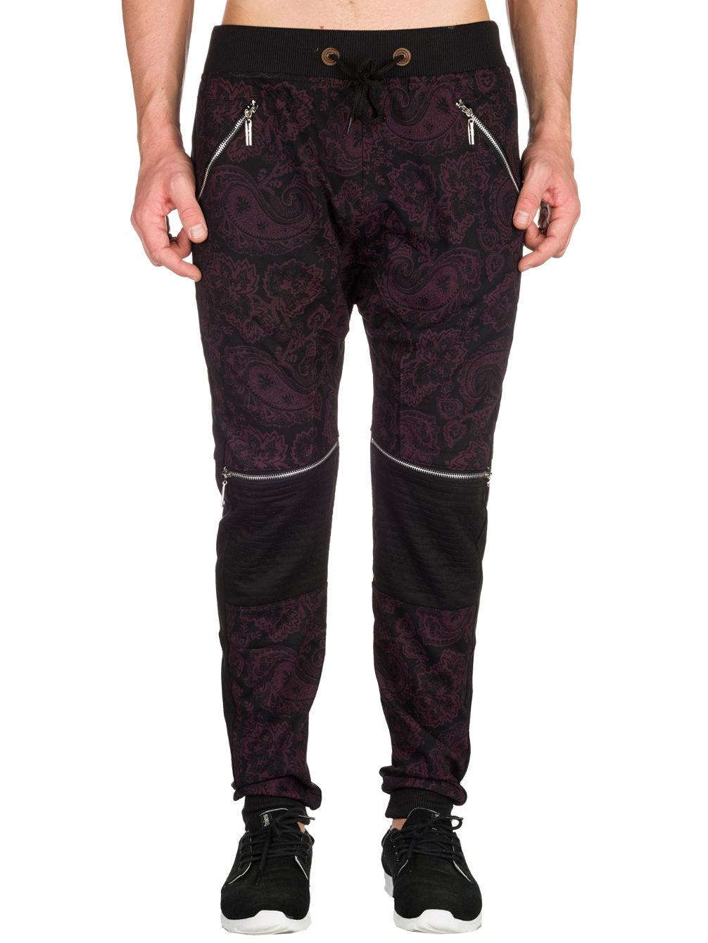 american-stitch-paisley-moto-jogging-pants