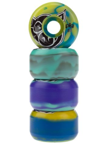 Pig Wheels Head Swirl Mash Up 53mm Wheels
