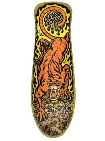 "Santa Cruz Salba Tiger Reissue 10.3"" Deck"