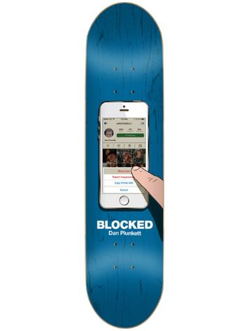 "Skate Mental Plunkett Blocked 8.25"" Deck"