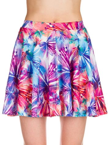 THFKDLF Water Color Skater Skirt
