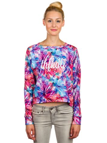 THFKDLF Water Colour Cropped Sweater