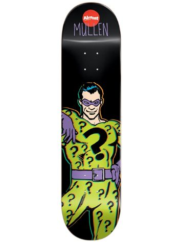 "Almost Mullen Villain Riddler V2 R7 8.1"" Deck"