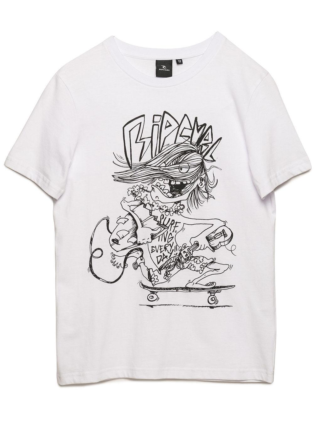 Artikel klicken und genauer betrachten! - Das Arty kurzarm T-Shirt ist zu 100 % aus Baumwolle gefertigt. Dieses Jersey-Material ist angenehm zu tragen und hat einen tollen Griff. Der Druck des Shirts hat beides, er ist originell und lustig. Das Shirt ist klassisch geschnitten.   im Online Shop kaufen