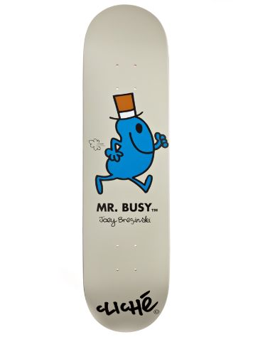 "Cliche Brezinski Mr. Men R7 8.0"" Deck"