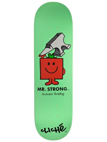 "Cliche Brophy Mr. Men R7 8.5"" Deck"