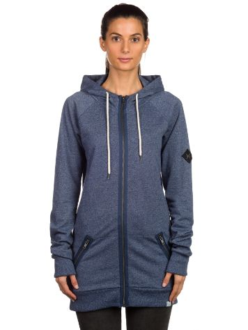 Blue Tomato BT Long Zip Hoodie