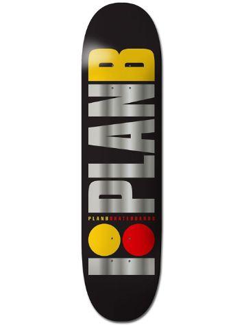 Plan B Team Og Blk Ice 8.2´´ Skateboard Deck