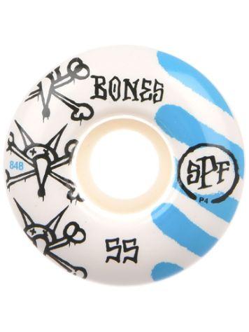 Bones Wheels Spf War Paint 84B P4 53mm Ruedas