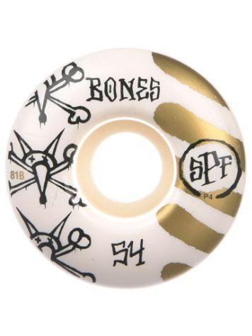 Bones Wheels Spf War Paint 81B P4 53mm Ruedas