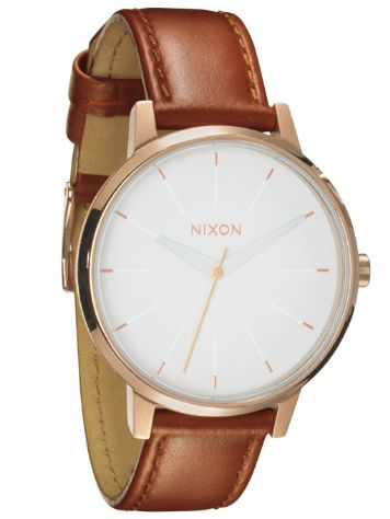 Nixon The Kensington Leather Reloj