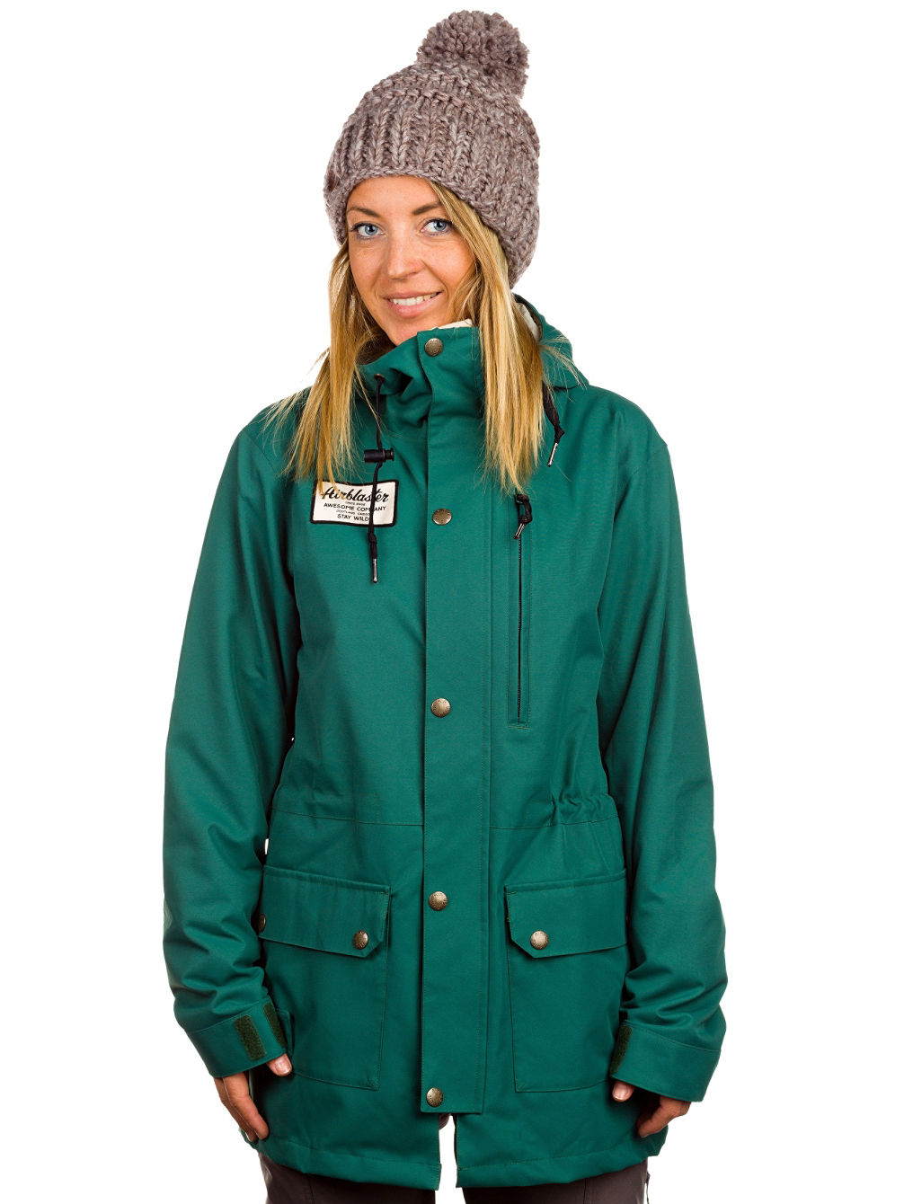 Buy Airblaster Freedom Parka Jacket online at blue-tomato.com